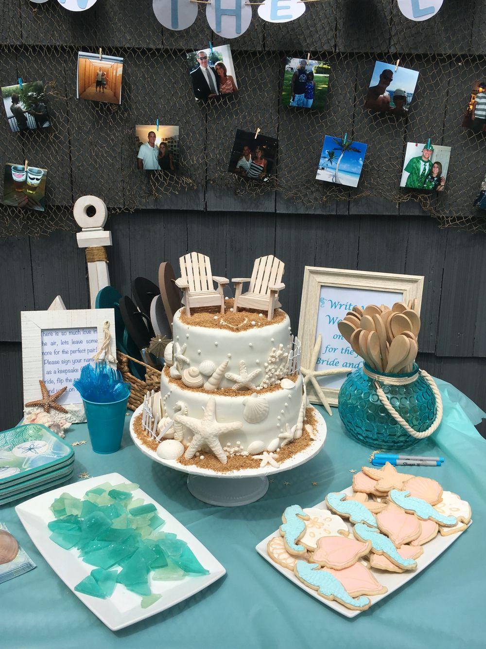 Beach Bridal Shower Dessert Table Bridal Shower Desserts
