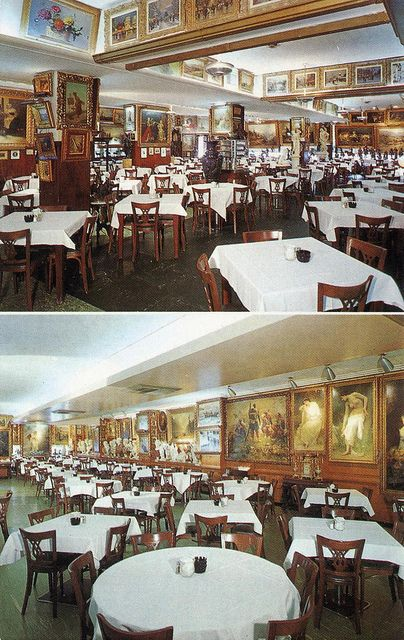 The Now Closed Haussner S Restaurant Baltimore Md Real Five Star When It Was Still Open