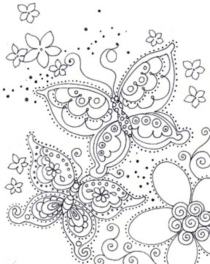 Diy Gretchen Jones Necklace Coloriage Papillon Coloriage