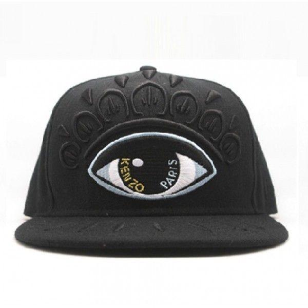 2103724fd4495 Kenzo Baseball Hat Eye Stussy Snapback Hater Supreme (Black) in 2019 ...