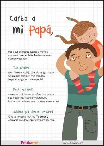 Felicitaciones Dia Del Padre Cartas Para Papa Felicitaciones