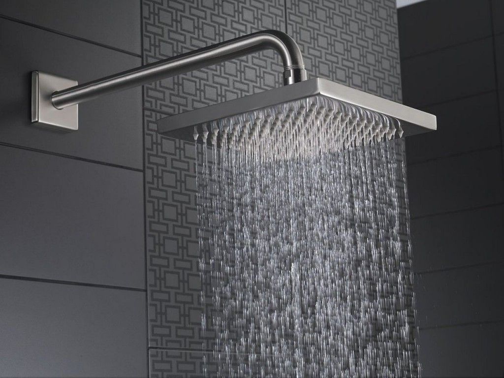 cleaning rain shower head. Delta Arzo Touch Clean Rain Shower Head Chrome Fixture Home Bathroom  The Top 10 Best Reviews for a Quick and Comfort