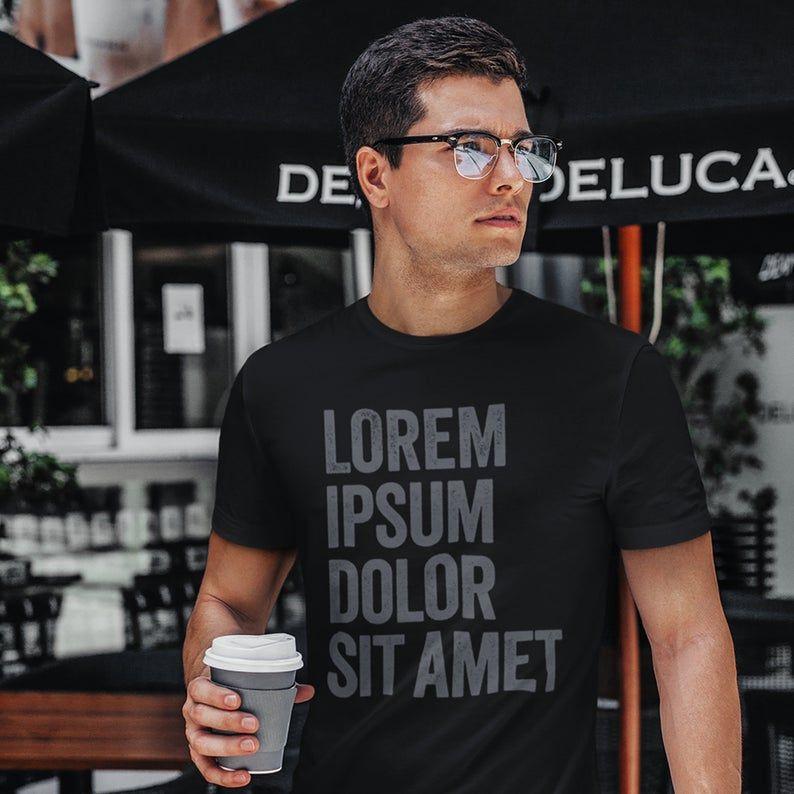 Lorem Ipsum Designer Short-Sleeve Unisex T-Shirt