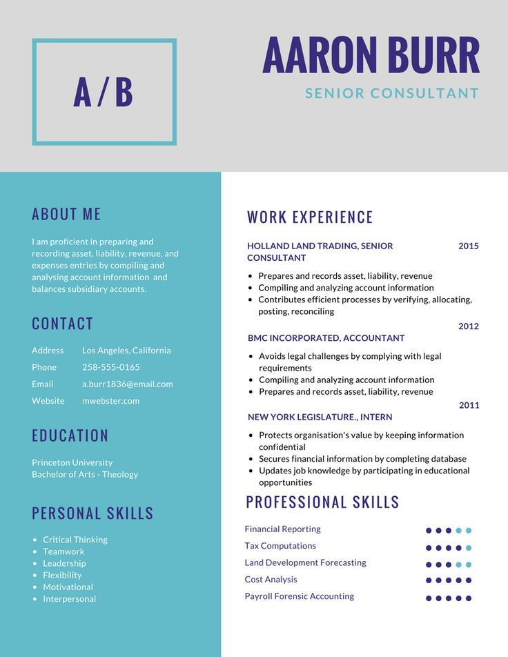 Quick Resume Maker resume example