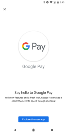 Google Pay v1.53 rolls out major redesign, prepares