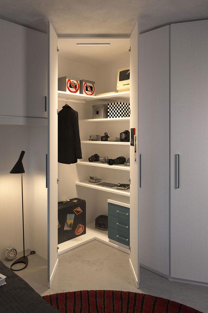 Cabina armadio per cameretta realizzabile anche su misura for the home pinterest cabina - Camerette bambini su misura ...