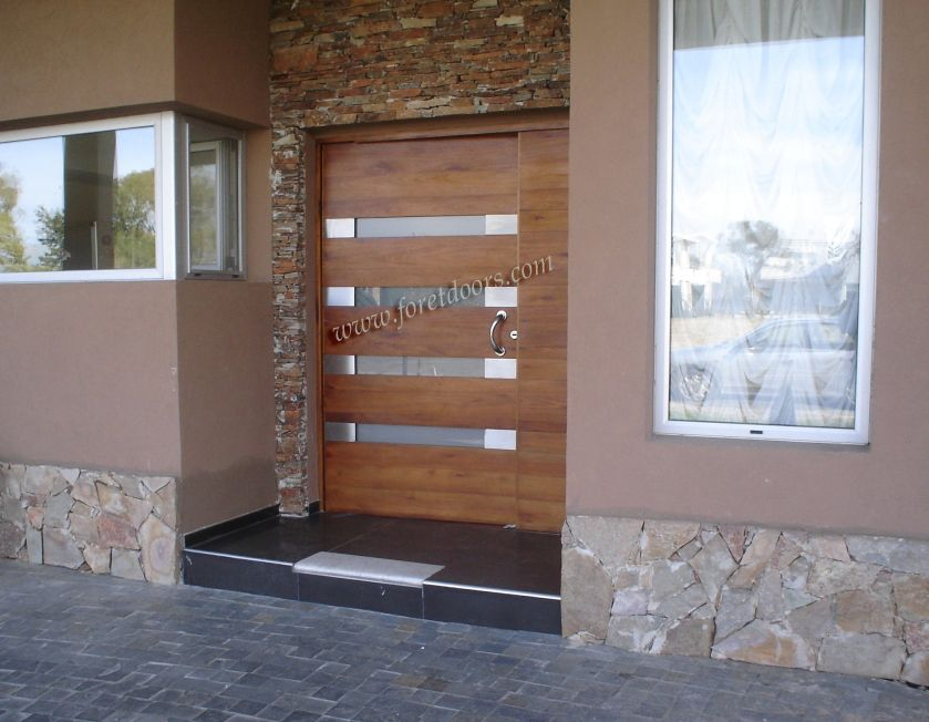 Gallery Of Contemporary Modern Wood Front Entry Doors By Foret .