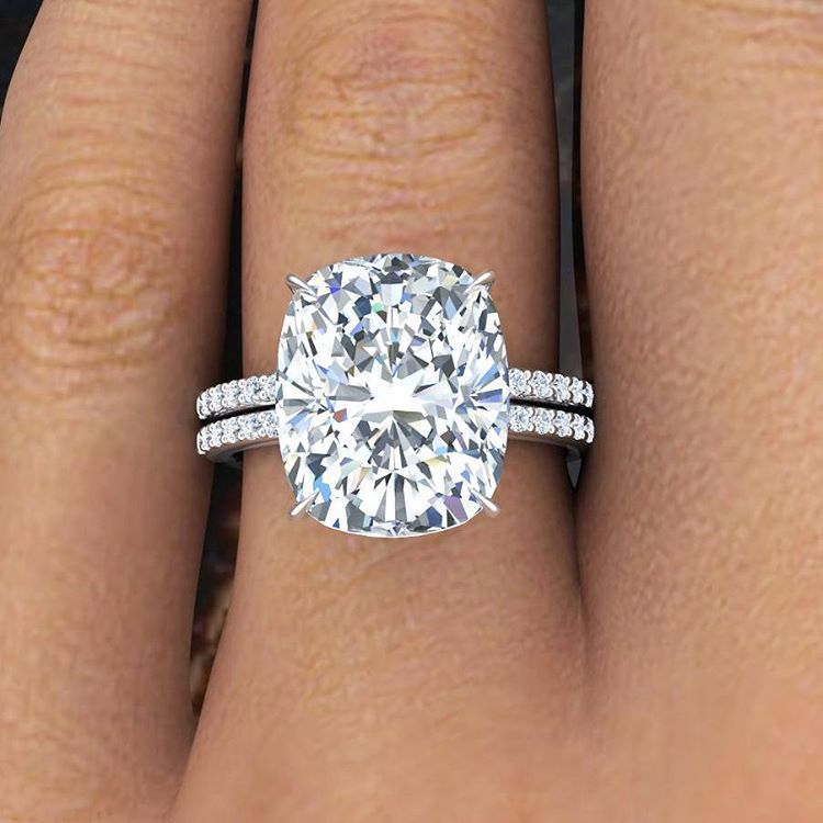 cushion cushi rectangle engagement rectangular cut diamond rings ring oval