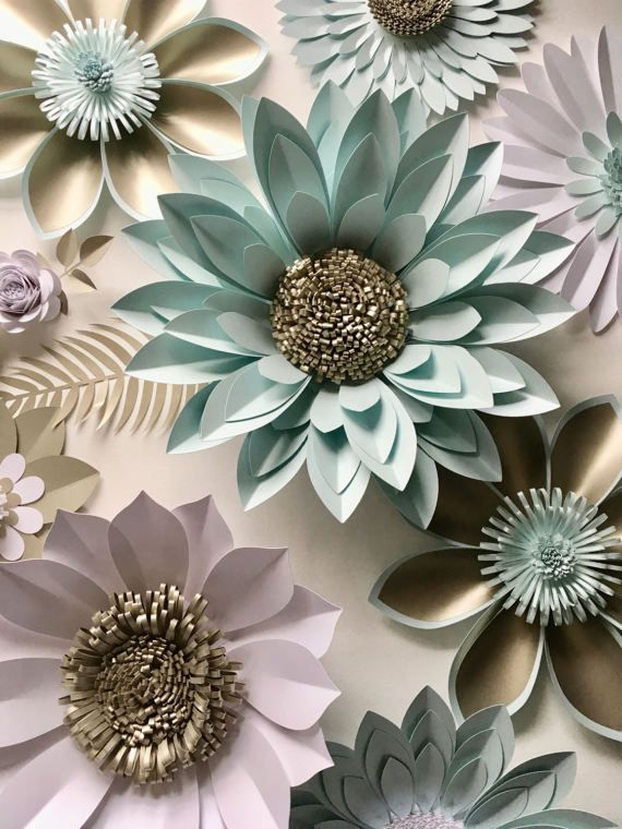 Pearl and aquamarine giant paper flower backdrop wall decoration photography prop diy pinterest photo booth also rh za