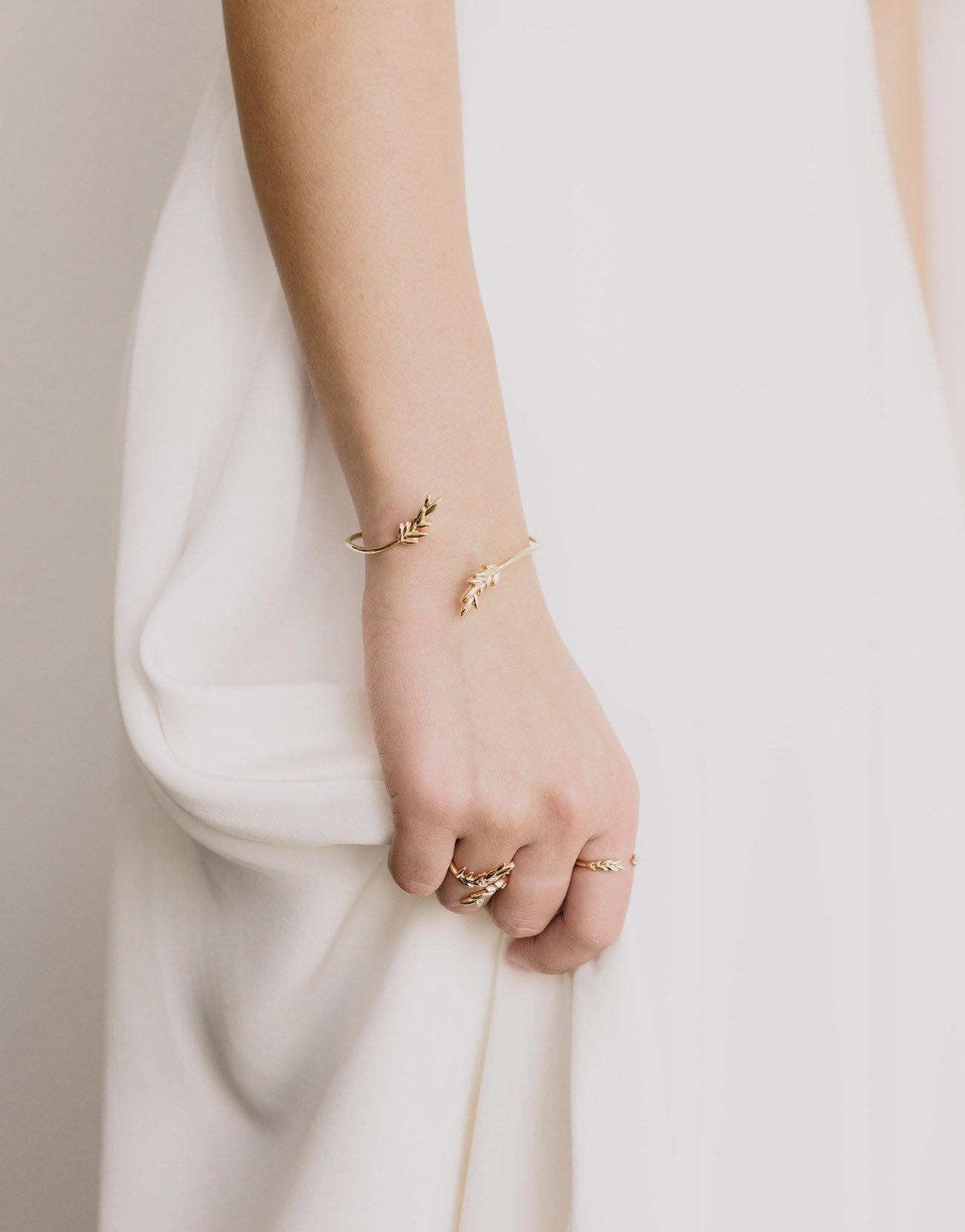 eb4c1631e Olive Leaf Bracelet by GWSxMejuri #GWSxMejuri | GWS x Mejuri ...