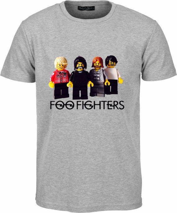 b4c52ab4 Foo Fighters Lego Men T-Shirt Unisex Rock by LemontreeLaneHome ...