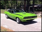 1970 Plymouth Barracuda   5.7L, Automatic
