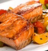 Seafood Salmon Teriyaki