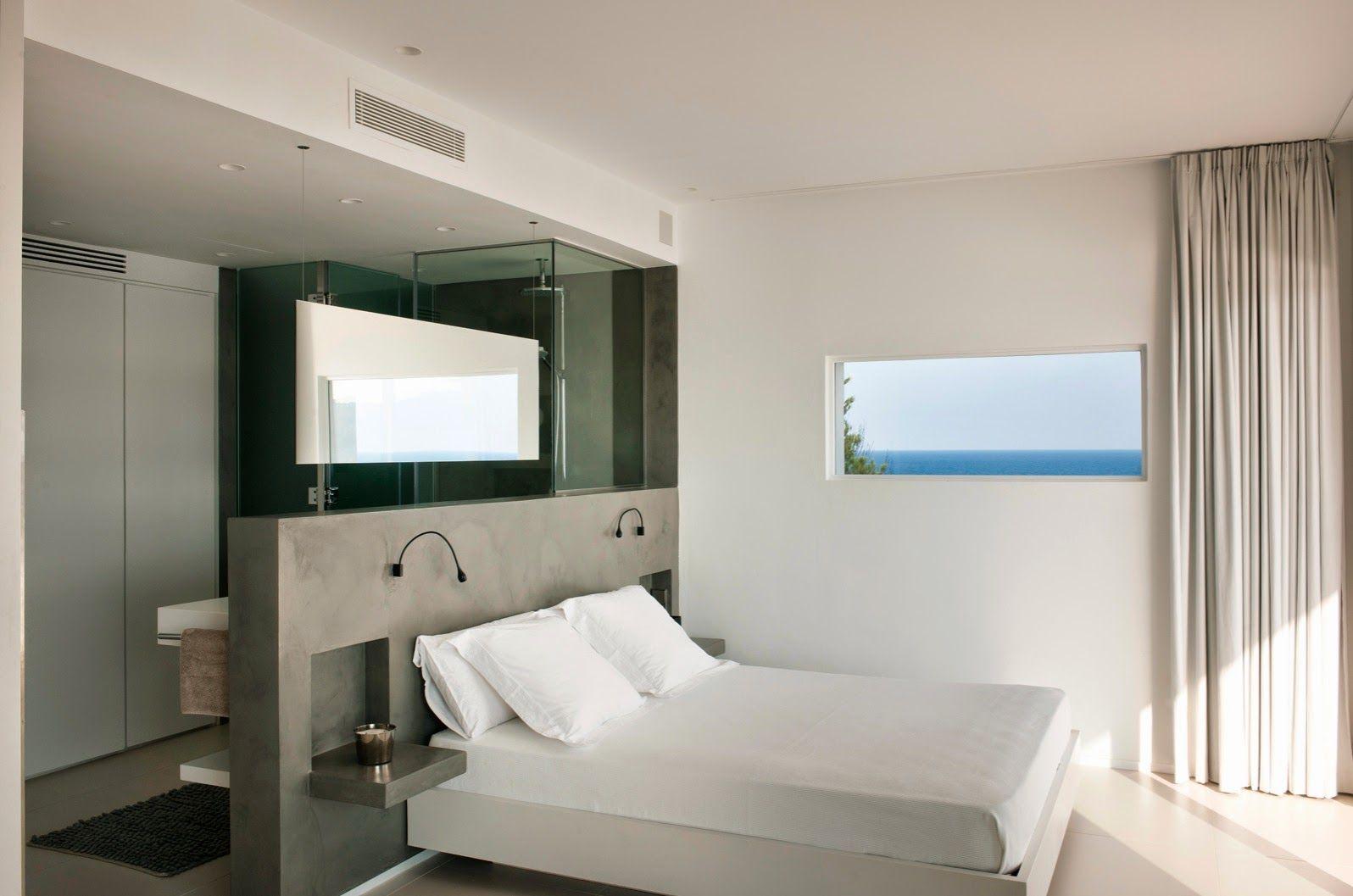 25 Beach Style Open Bathroom Design Ideas Open Plan Bathrooms Open Bathroom Bedroom Layouts