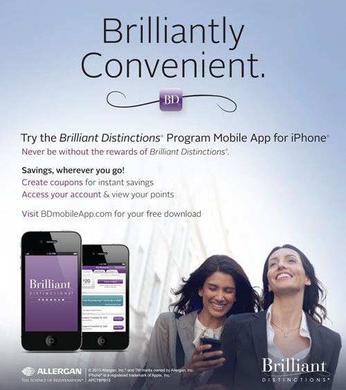 Brilliant Distinctions APP from Allergan! Easier way to ...