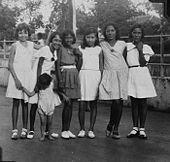 Indo European children in Batavia, between 1925-1935.