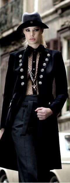 Adeline Vaher-Vahter for Moda Magazine November 2012