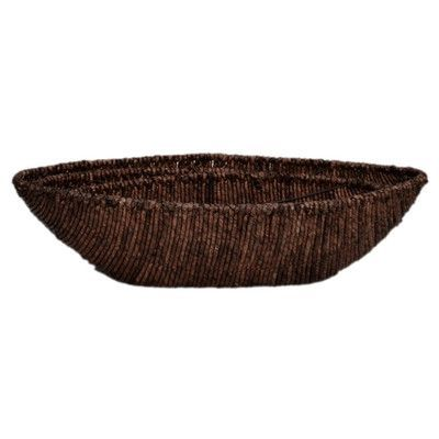 Cheungs 3 Piece Seagrass Woven Canoe Bowl Set