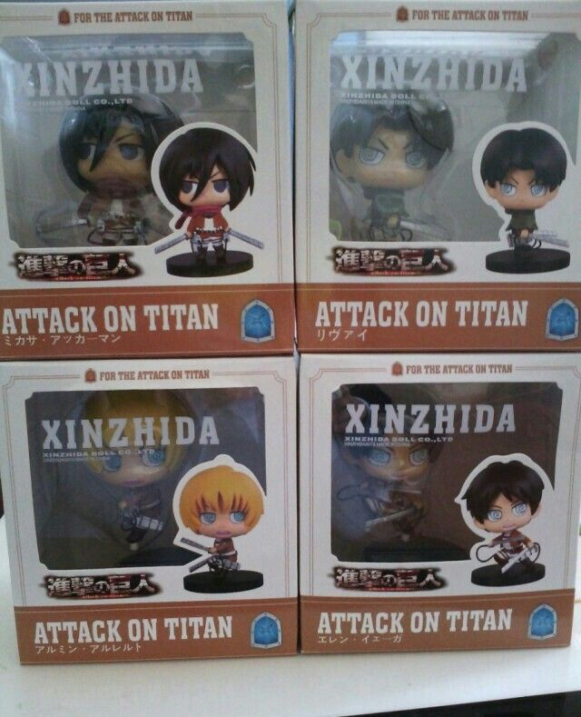 Attack on Titan freedom of the most advancing game C prize Hanji figure