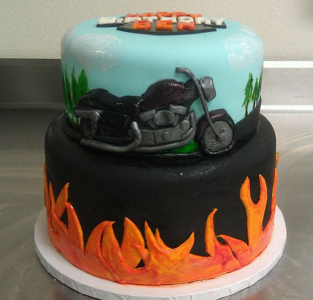 Motorcycle Cake View 5 Funny Birthday Cakes Funny