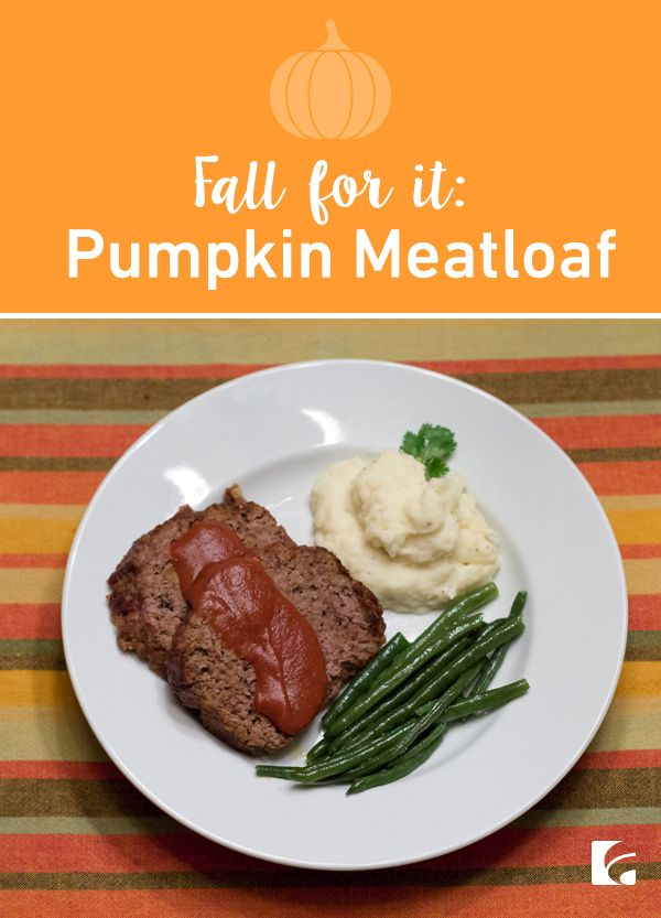 Tired of pumpkin spice lattes? (Yeah, we said it.) If you've fallen into a predictable pumpkin rut, it might be time to switch up your routine. We have just the recipe. Ready for this? Pumpkin. Meatloaf.