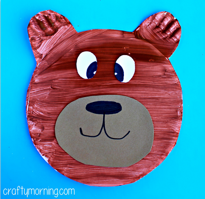 Make This Fun Paper Plate Bear Craft With Your Kids All You Need Is Plates