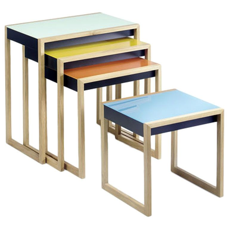 Nesting Tables By Josef Albers Cool Looks Table