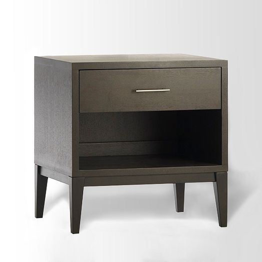 Narrow Leg End Table Chocolate West Elm Furniture Bedroom