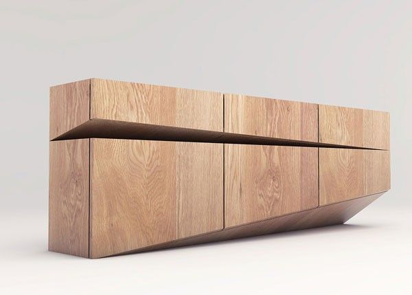 Modern Furniture // Sideboard Design By Natalia Wieteska, An Interior And Furniture  Designer By Poznań, Poland.