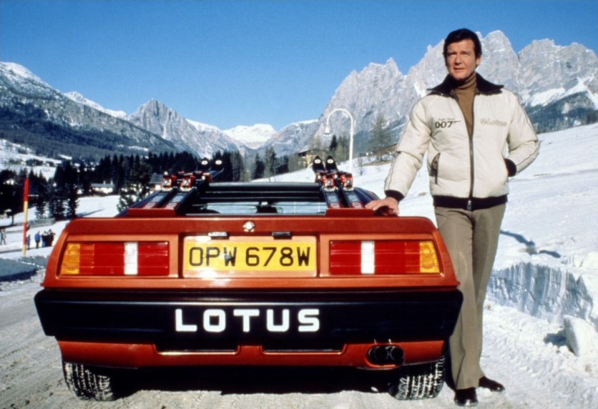 Roger Moore in For Your Eyes Only (1981) Voiture