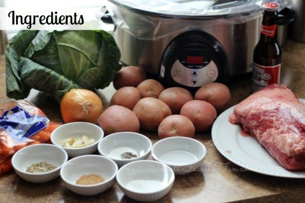 crockpot corned beef cabbage recipe ingredients