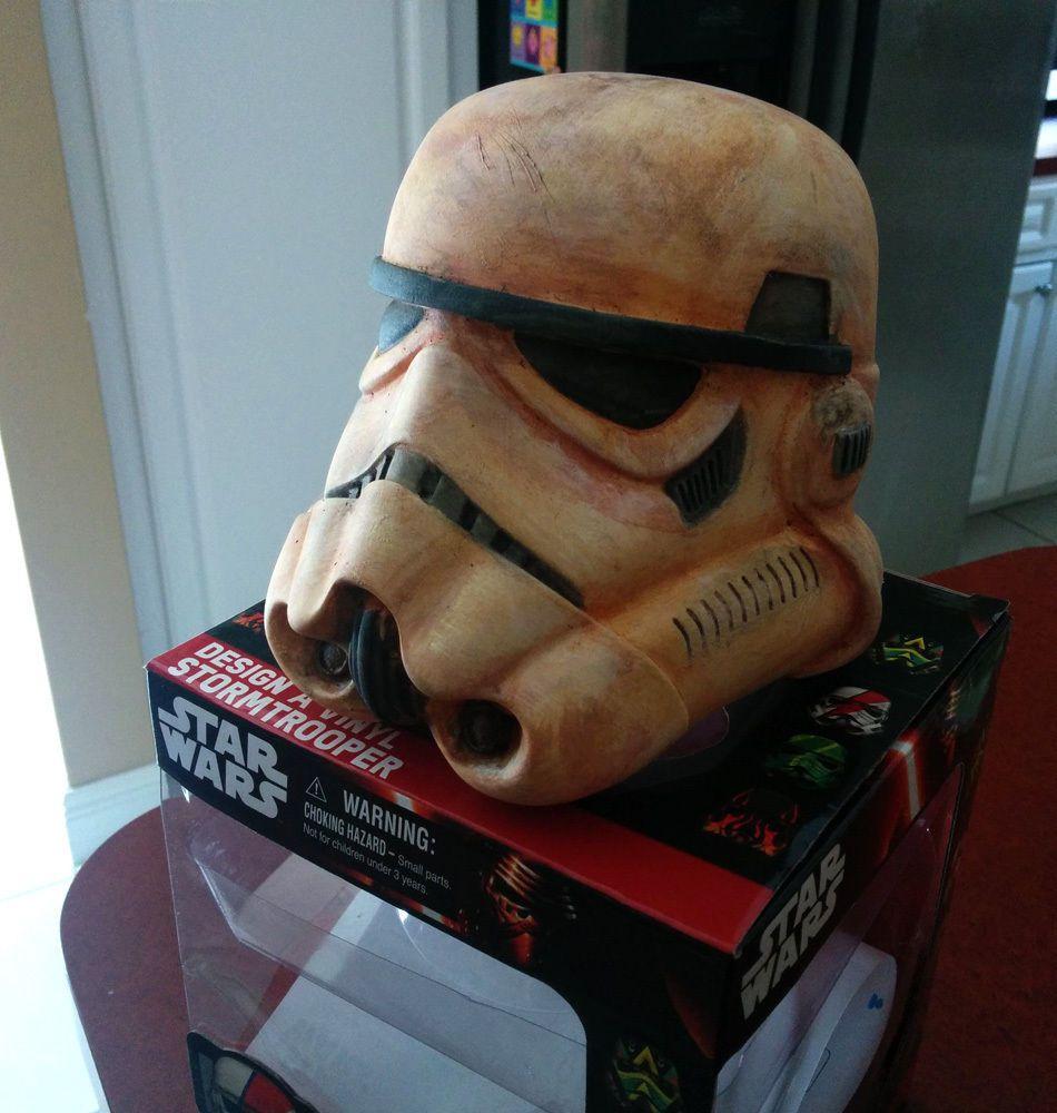 Star Wars Design A Vinyl Stormtrooper Helmet Force Friday Custom