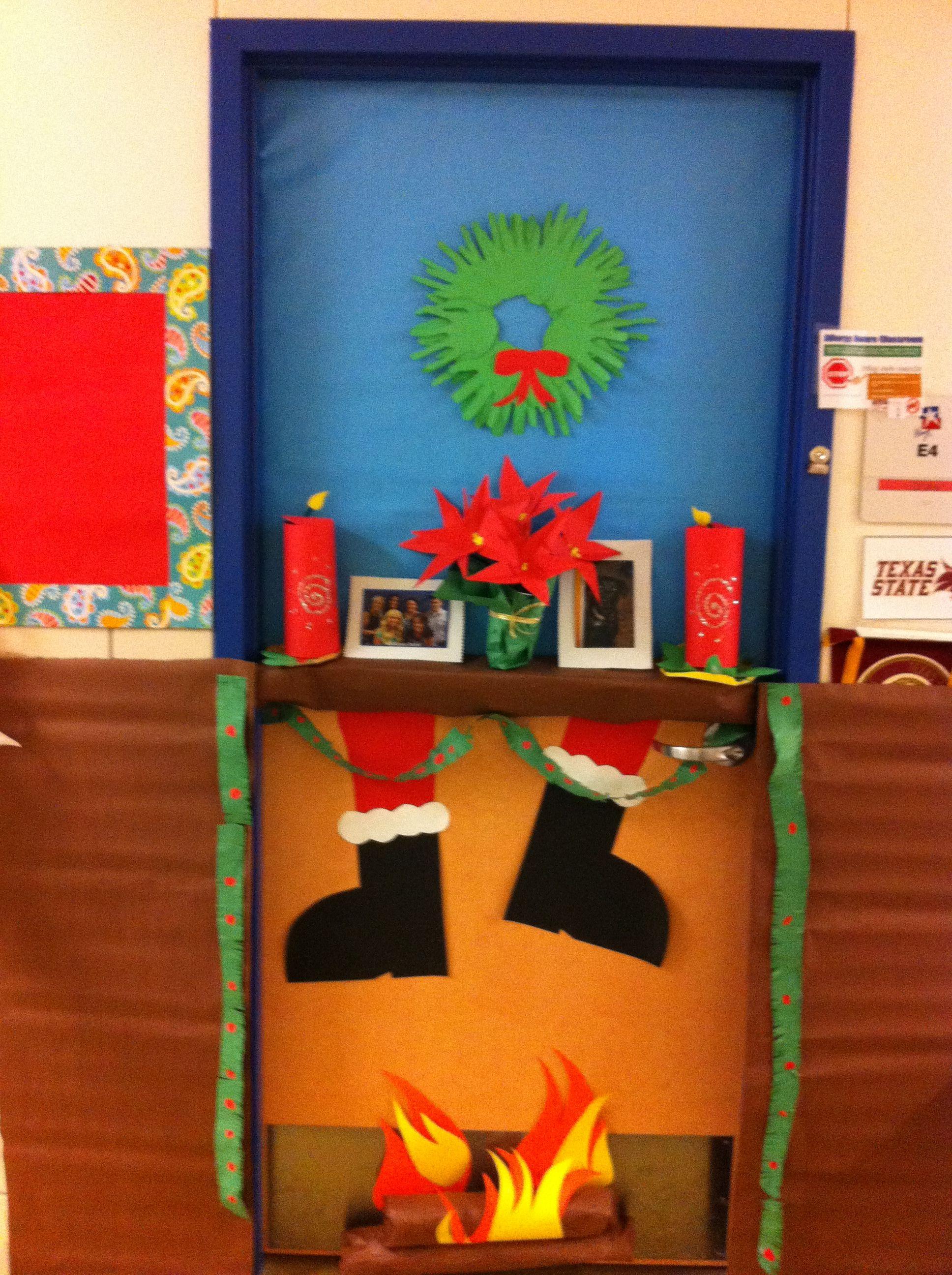 Christmas door part II for the kiddos holidays
