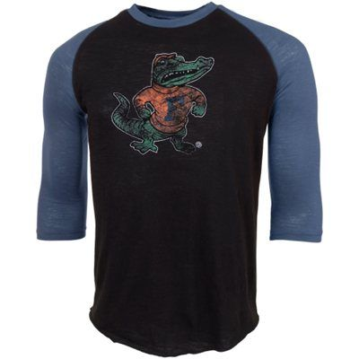 Florida Gators 3 4 Sleeve Raglan Slub T-Shirt  74669201bbba