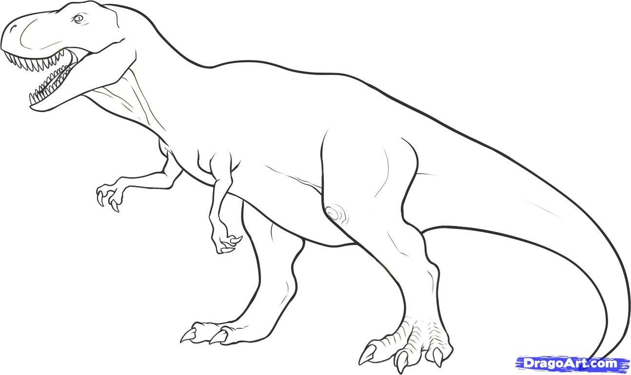 T Rex Dinosaur Coloring Pages | Traveling Ideas | Pinterest