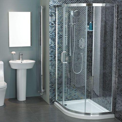 Atlas 1100mm Offset Quadrant Shower Enclosure Quadrant Shower