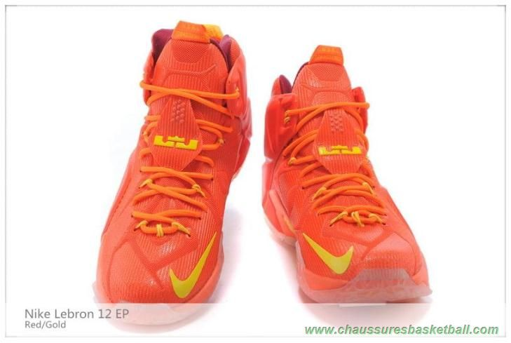 new arrivals 8b5cd 268a9 684593-603 Rouge Or Nike Lebron 12 EP