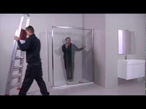 Box doccia Arbataxmove - Montaggio cabina doccia - Calibe - YouTube ...