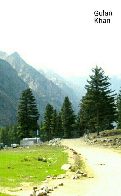 Awesome nature beauty of Kalam Swat valley Khyber Pakhtunkhawa Pakistan