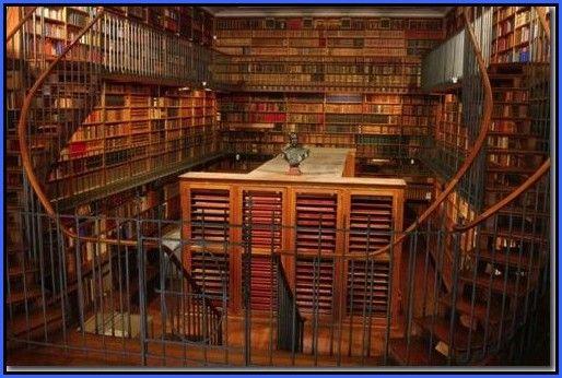 bibliothque dans bibliotheque virtuelle de l 39 anticipation ancienne archi d co meubles. Black Bedroom Furniture Sets. Home Design Ideas