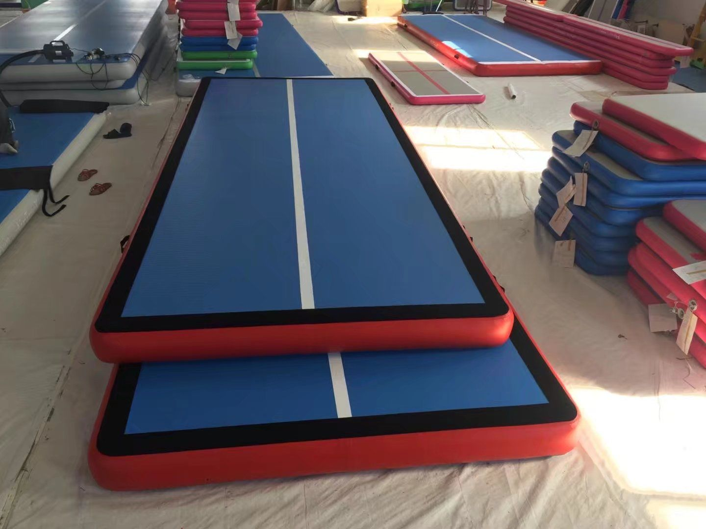 inflatable gym mat with velcro Gym mats, Ping pong table