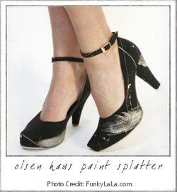 OlsenHaus|Paint Splatter Heel