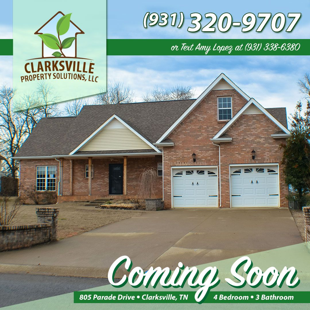 3805 Parade Dr Is A 4 Bedroom 3 Bath 2 Car Garage All Brick Home Home Has A Large Fenced Backyard And Is Selling House Rent To Own Homes Central Air Units