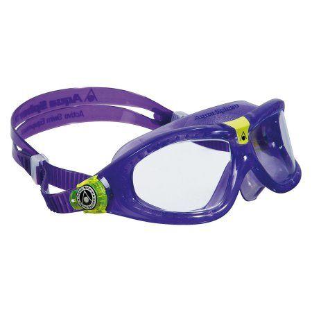 b4f5c3100e Buy Aqua Sphere Seal Kid 2 Junior Swim Goggles at Walmart.com ...