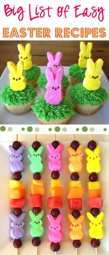 BIG List Of Easy Easter Recipes From TheFrugalGirls