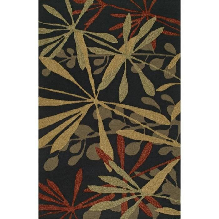 Sanibel Sj4 9 X 13 Black Area Rug Nebraska Furniture Mart