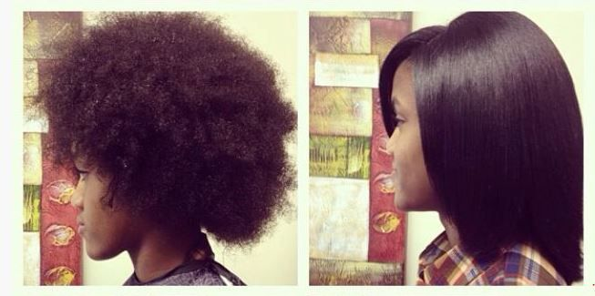Natural Hair Flat Iron Styles: Thinking About A Flat Iron?