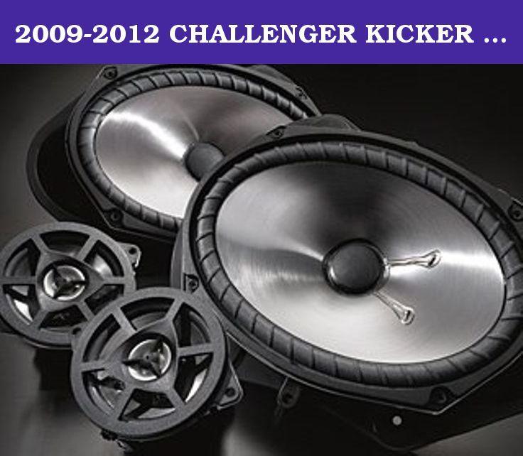 2009 2012 Challenger Kicker Speakers Midbase Mopar 3 5 6x9 New Genuine Oem Mopar Kicker Speaker Upgrade 2 6x9 Mopar Mopar Accessories 2012 Dodge Challenger