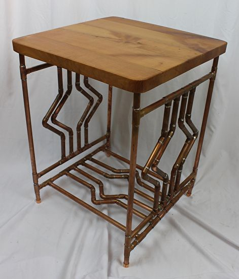 Unique End Table From Paul Segedin And Urban Prairie Design In