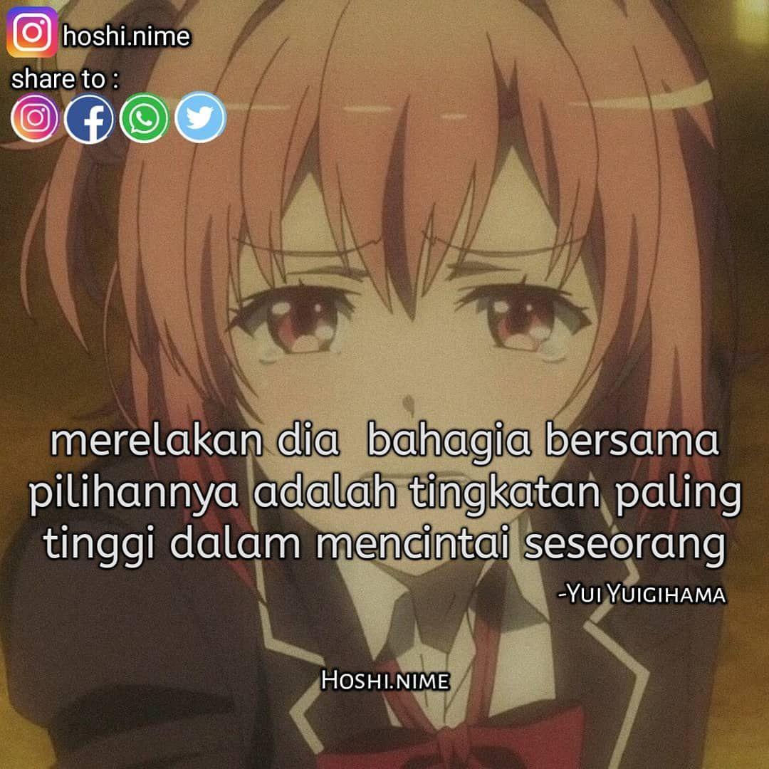 Keep Strong Anime Oregairu Char Yui Yuigihama Song Jangan Lu
